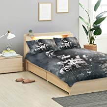 CANCAKA Special Duvet Cover Set Special Forces Soldier Police Swat Team Design Bedding Decoration Twin XL Size 3 PC Sets 1 Duvets Covers with 2 Pillowcase Microfiber Bedding Set Bedroom Decor Accesso