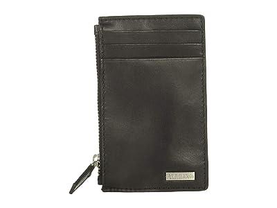 Calvin Klein Zip Card Case (Black) Wallet