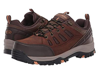 SKECHERS Relaxed Fit Relment Semego (Dark Brown) Men