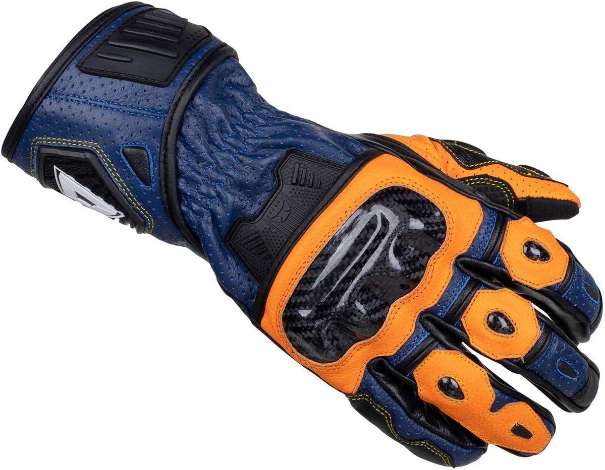 Black//White Xl Cortech Mens Speedway Apex Rr Leather Glove
