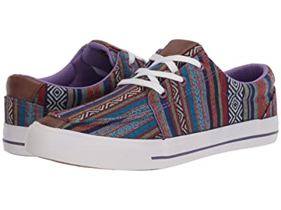 Roper Angel Fire (Multi Purple Aztec Canvas Stripe) Women
