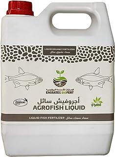 AGRO FISH FERTILIZER LIQUID | UAE ORGANIC FERTILIZER | MOCCAE APPROVED | 1 GALLON (3.8 LTR) No.1 Choice of Organic Growers
