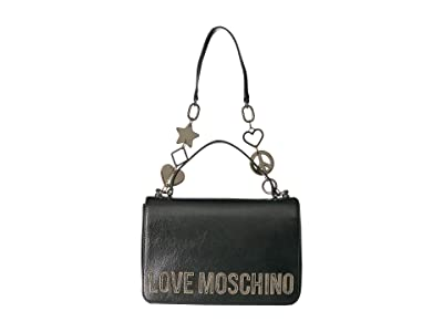 LOVE Moschino Logo Top-Handle (Fucile) Handbags