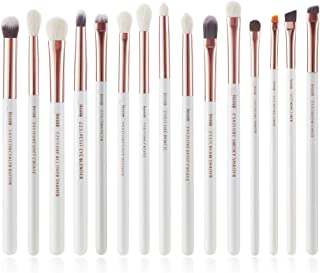 Jessup 15Pcs Eye Makeup Brush Set Eyeshadow Eyeliner Shader Brush Tools kit T217