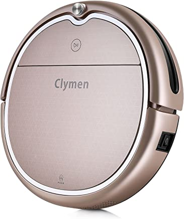 Clymen Q8 Robot Vacuum Cleaner,Connects to WiFi,Compatible with Alexa App, Robotic