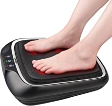 Shiatsu Home Foot Massager with Washable Cover, RENPHO Electric Foot Massage Machine with Soothing Heat and Multi Buttons for Tired Feet
