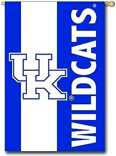 Team Sports America U of Kentucky Embellished House Flag - 28 x 44 Inches