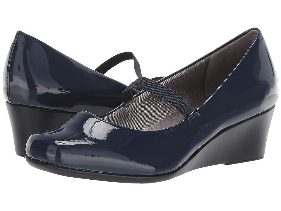 LifeStride Groovy MJ (Lux Navy) Women's Shoes, Black