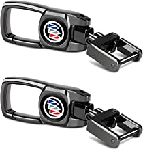 Feeke 2Pack Car Key Chain Heavy Keychain for Buick Lacrosse Enclave Regal Lesabre Reatta Encore Rendezvous Verano Riviera ...