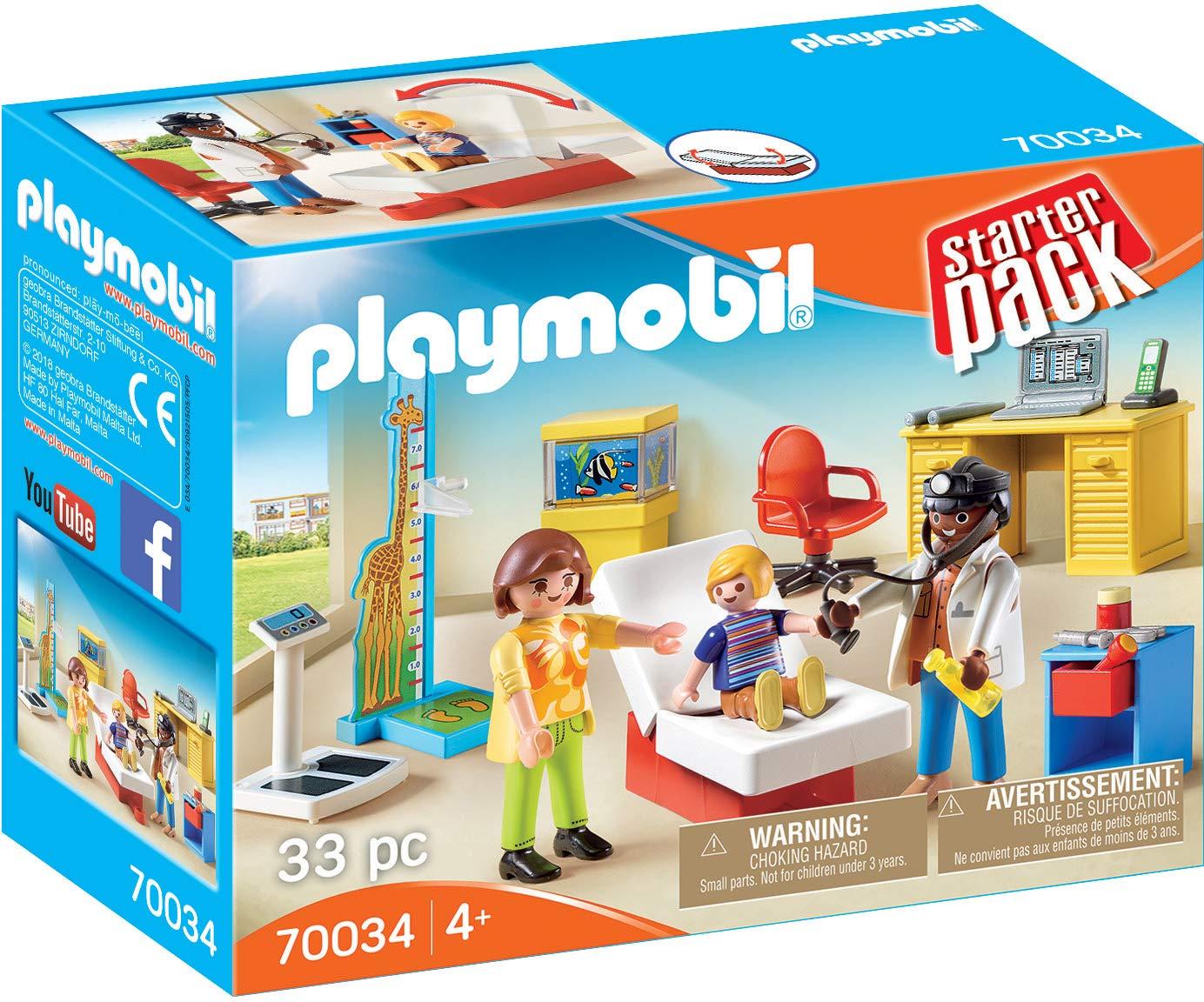 PLAYMOBIL PLAYMOBIL-70034 Starterpack Consulta pediatra ...
