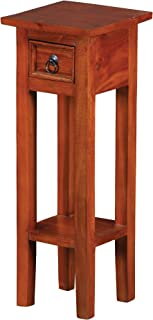 Sterling 6500525 Sutter Mahogany End Table with Drawer, 27-Inch, Espresso