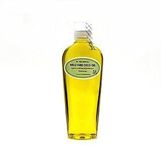 Organic Pure aceites portador prensado en frío aceite de 8oz (Mostaza)