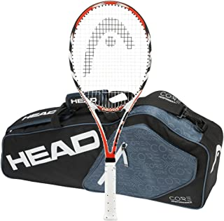 Head Microgel Radical MidPlus - STRUNG with 3 Racquet Bag MP