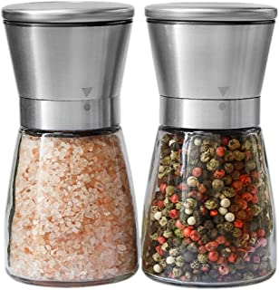 Best stainless salt and pepper shaker Reviews