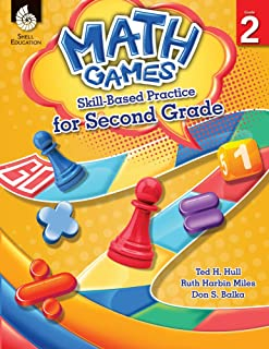 Math Games: Skill-Based Practice for Second Grade