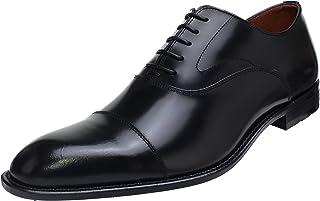 [ケンフォード] ストレートチップ ビジネスシューズ 4E (普通幅) 革靴 撥水機能 (KB48ABJEB) BLACK (ブラック) リーガルコーポレーション 大きいサイズ 日本製 (27.5cm (4E), BLACK (ブラック))