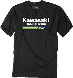 Men's Black Kawasaki Racing Team Tee Shirt