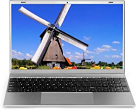 "Laptop 15.6 inch Windows 10 Notebook 8GB RAM 128GB SSD - YELLYOUTH 15.6"" Ultra Slim Full HD Laptop Intel Quad Core Compute..."