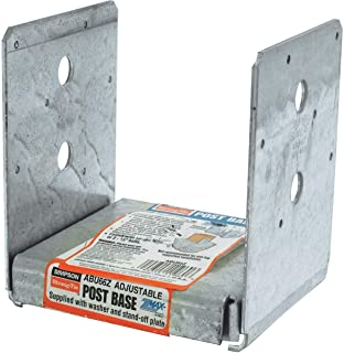 Simpson Strong-Tie ABU66Z Post Base 12-Ga Zmax (10Pk)