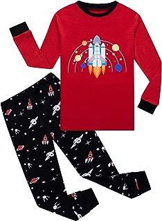 Dolphin&Fish Boys Pajamas Little Boy Toddler Pjs Set 100% Cotton Kids Clothes Children Sleepwear