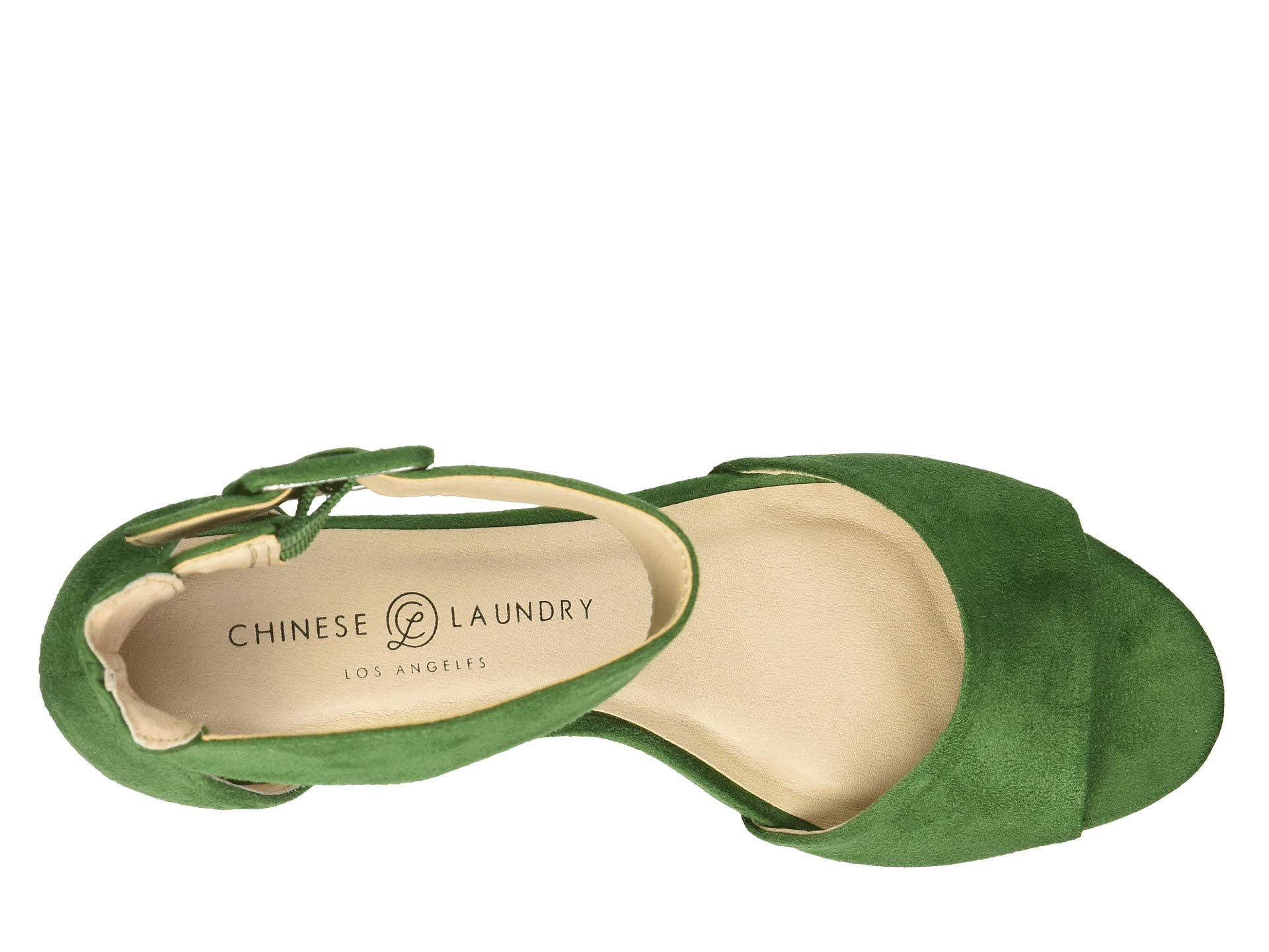 Chinese Rumor Green Suede Fine Laundry r16AHr