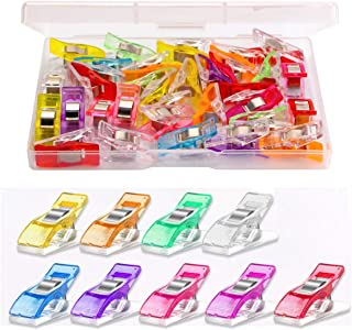 Multipurpose Sewing Clips 30 Pcs Premium Quilting Clips Assorted Colors Fabric Clips for Sewing Supplies Quilting Accessor...
