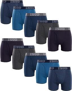 Men's Underwear - Cotton Boxer Briefs (10 Pack)