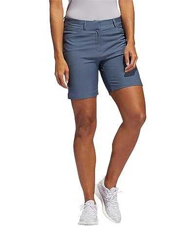 adidas Golf Seven-Inch Shorts (Legacy Blue) Women