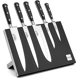 Sabatier Trompette 865700MBA104K Vulcano Bloc magnétique 5 couteaux de cuisine