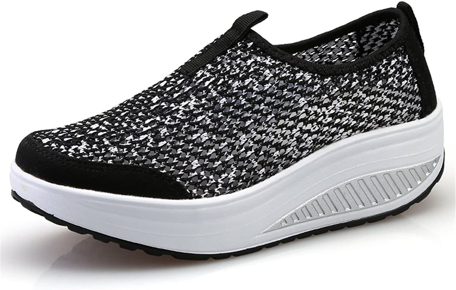 Edv0d2v266 Breathable Sneakers Mesh shoes Women Casual Slip on shoes Lightweight Walking shoes