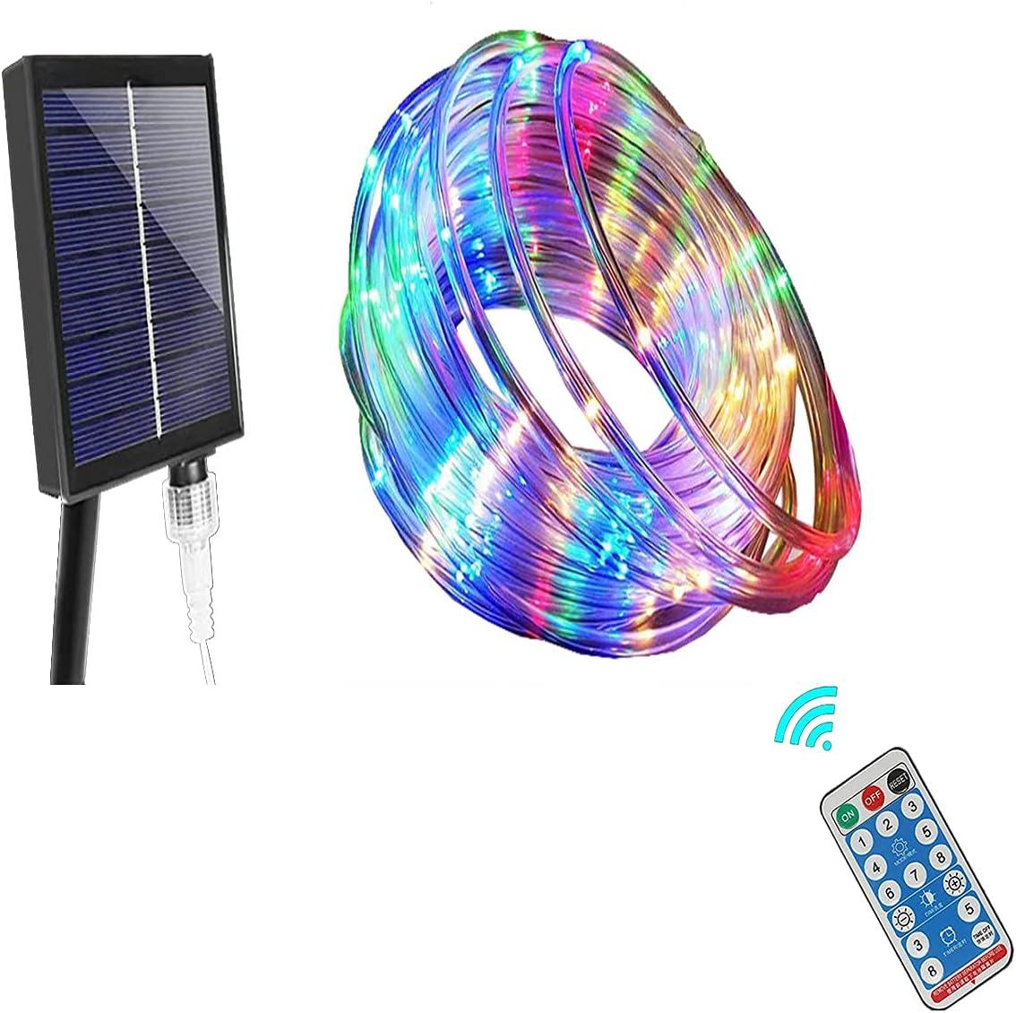 Waterproof 39.3Ft Trampoline LED Solar Powered Lights,Trampoline