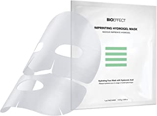 Best BIOEFFECT Imprinting Hydrogel Facial Skincare Mask with Hyaluronic Acid, Deeply Moisturizing, Skin Plumping and Fast Absorbing, a Hydrogel Sheet Mask Beauty Treatment, Alcohol-Free Review