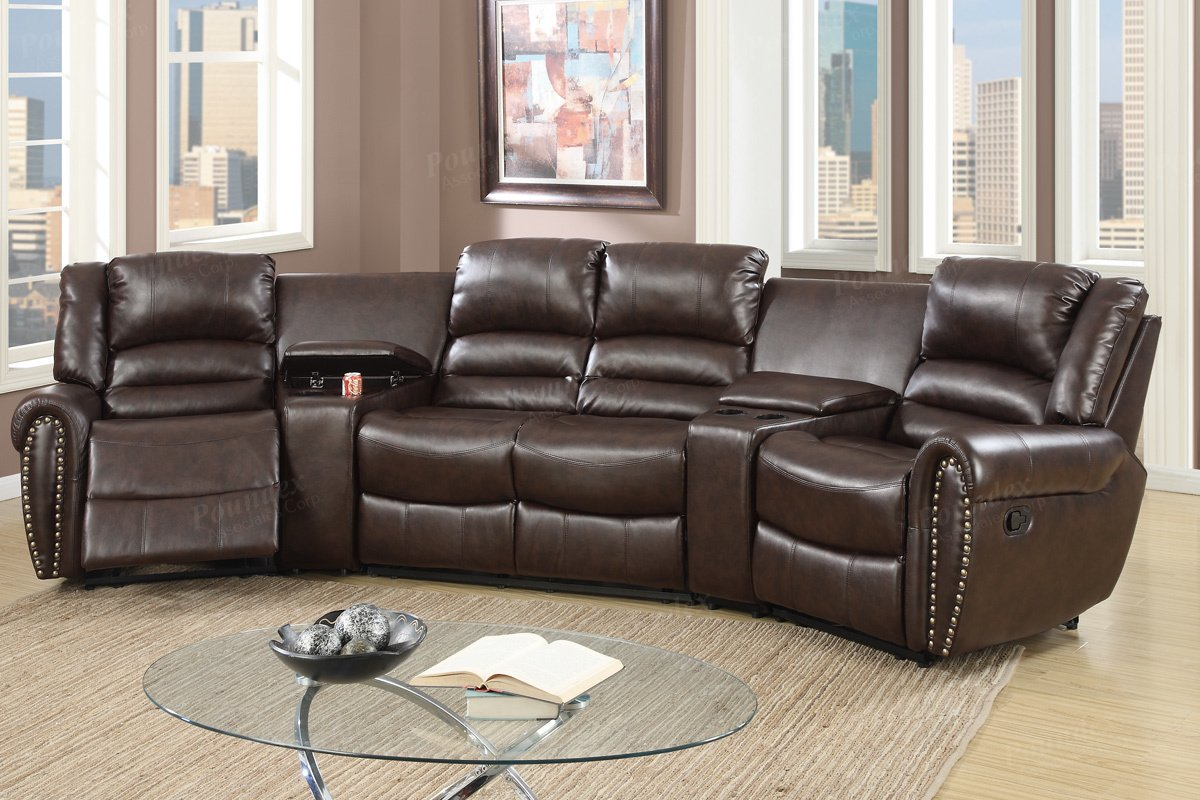 small reclining sectionals amazon com rh amazon com small leather sectional sofa with recliner small l shaped sectional sofa with recliner