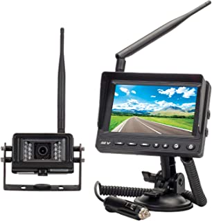MAGNADYNE MV-BC1 2.4G Wireless Single Waterproof Camera Monitoring System for RV and Other Vehicles