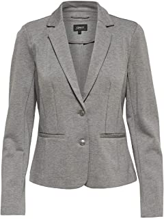 ONLY onlROMA 3//4 Fitted Panel Blazer TLR
