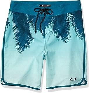 Oakley Mens Mens 482458 Mirage Palm 19 Inches Swim Trunks