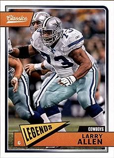 2018 Classics Football #119 Larry Allen Dallas Cowboys Legend Panini NFL Card