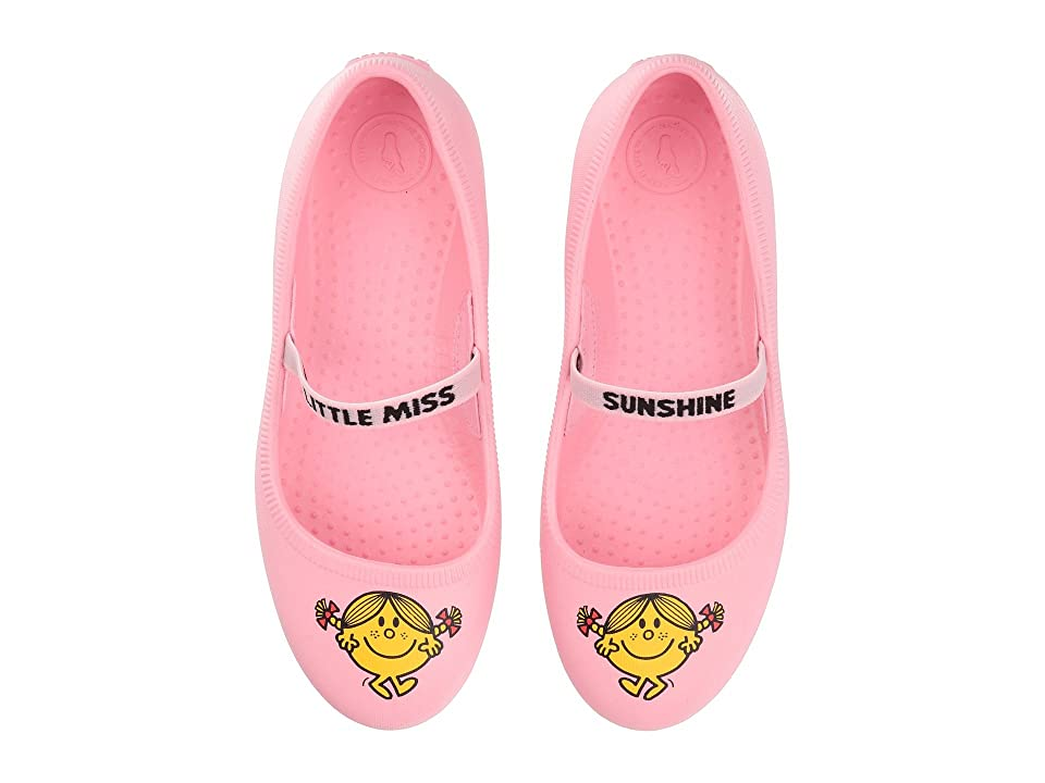 Native Kids Shoes Little Miss Sunshine Margot Print (Little Kid) (Princess Pink) Girls Shoes