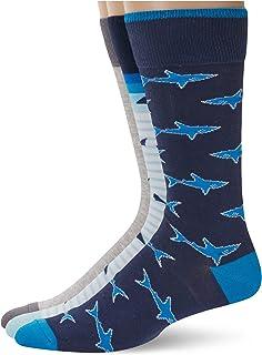 Sharks and Tales crew socks