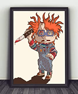 Rugrats Chuckie Childs Play Wall Print, Rugrats Chuckie Childs Wall Poster, Rugrats Chuckie Childs Gift, Hanging Poster, Rugrats Chuckie Childs Wall Art, Unique Gift, Printed Poster, Room Accessories