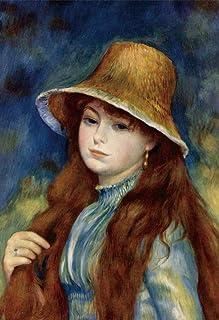 キューティーズ 300ピース ジグソーパズル 麦わら帽子の少女 (ルノワール)(26x38cm)
