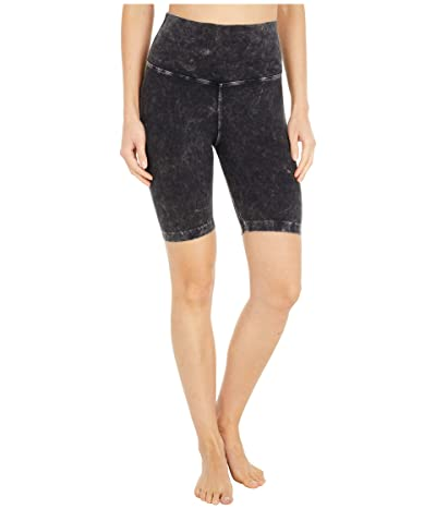Hard Tail Flat Waist Bike Shorts (Mineral Wash # 6) Women
