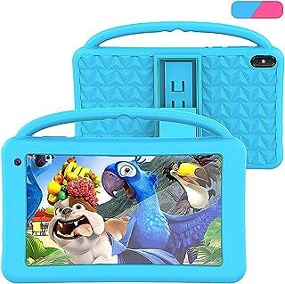 Tablet para Niños Regalo Pantalla IPS De 7 Pulgadas Quad-Core Android 10.0 2GB Ram 32GB ROM Google Play Preinstalado con E...