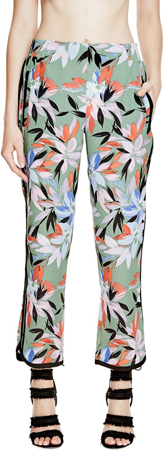 GUESS Women's Izzy Floral Joggers