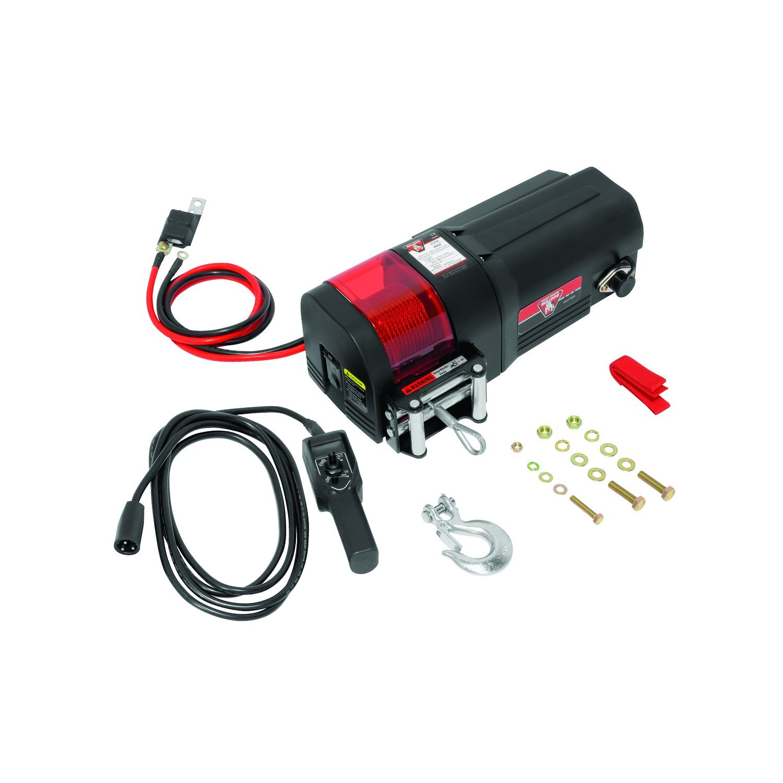 Bulldog Gray Universal 500526 6-Pin Electric Winch Wireless Remote 1 Pack