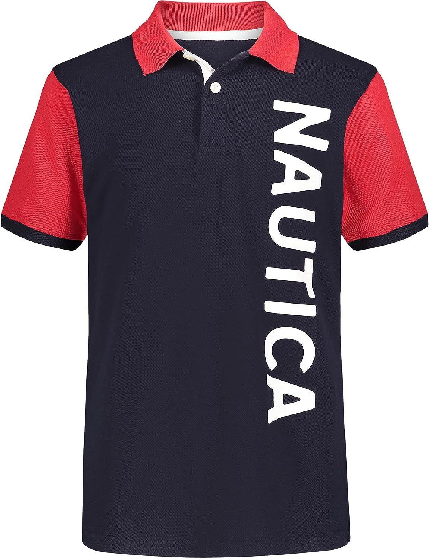 Nautica Boys' Colorblock Polo