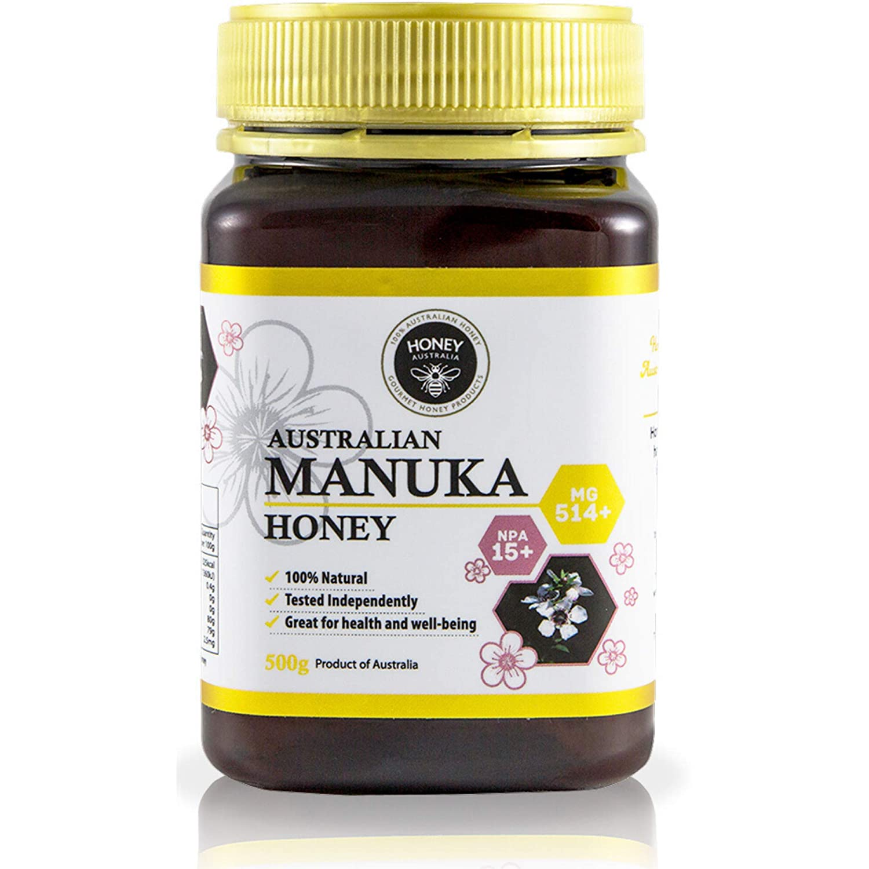 Large special price Honey Australia Premium Manuka – Pure NP 514+ Raw Special Campaign MGO