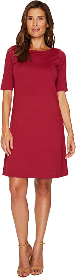 Drapey Ponte Short Dress