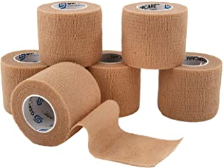 Self Adherent Cohesive Wrap Bandages 6 Count 2