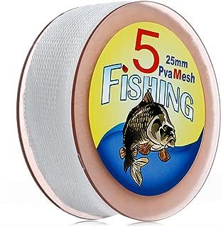5M Refill Carp Fishing Mesh PVA Stocking Boilie Rig Bait Wrap Bags 25/37/44mm by BLINGYING